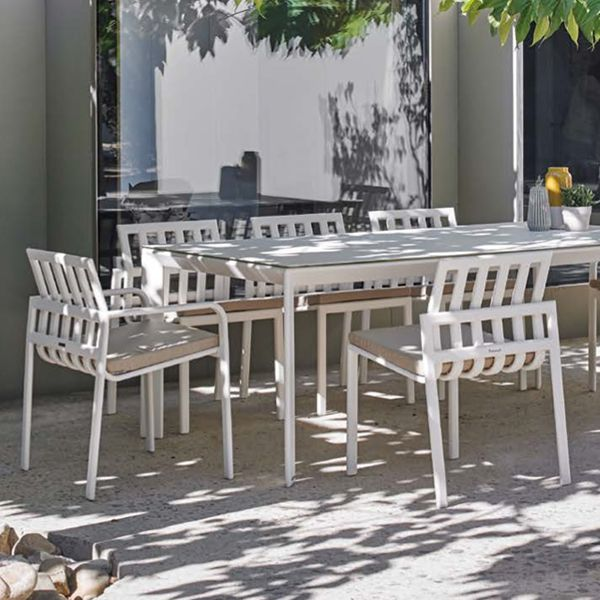 Point, Tub, Outdoor, Aluminum, Dining, Table, Chair, Patio,    HomeInfatuation.com.