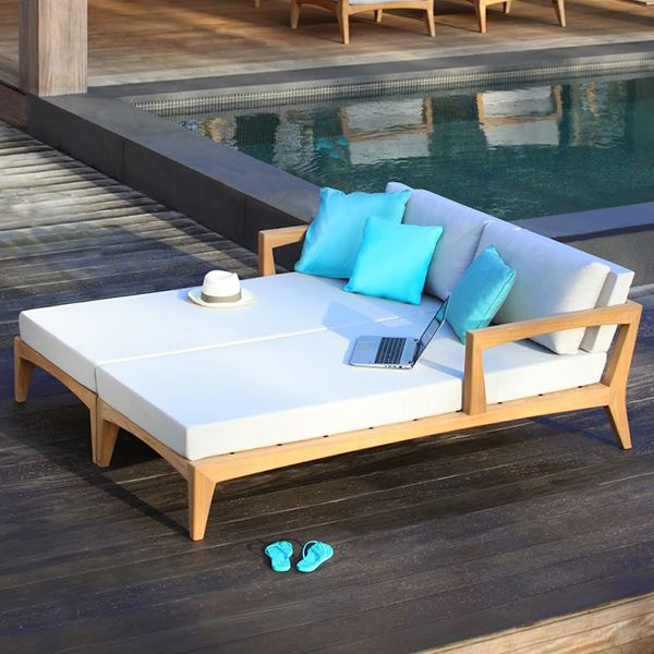 royal botania zenhit outdoor daybed teak. Black Bedroom Furniture Sets. Home Design Ideas
