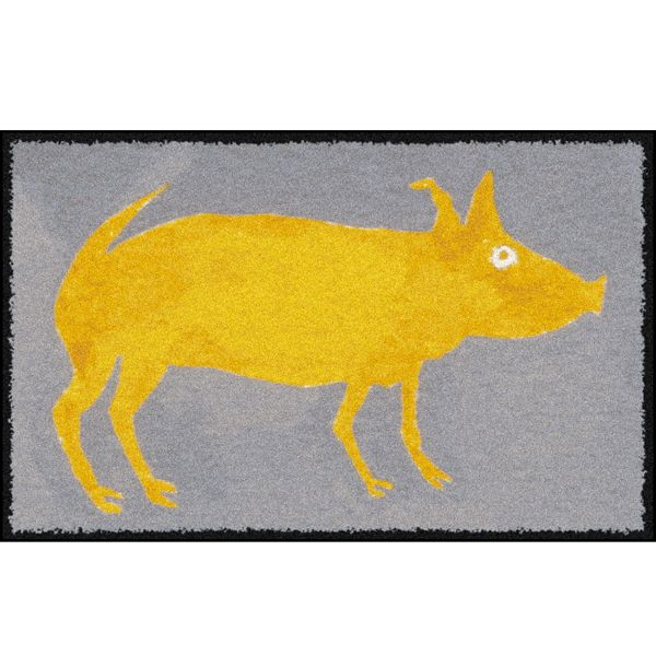 Yellow Pig Design Outdoor Rugs Home Infatuation
