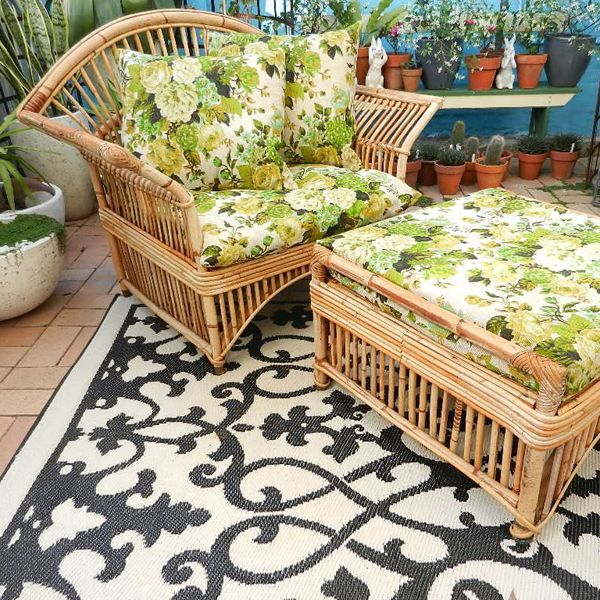 Venice Outdoor Rug Is Made Of Recycled Plastic