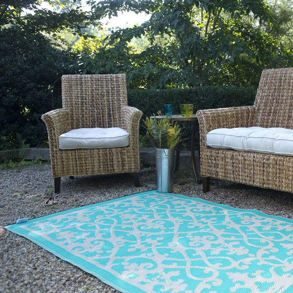 cream turquoise plastic outdoor rug patio rug indoor outdoor rug homeinfatuationcom - Patio Rugs