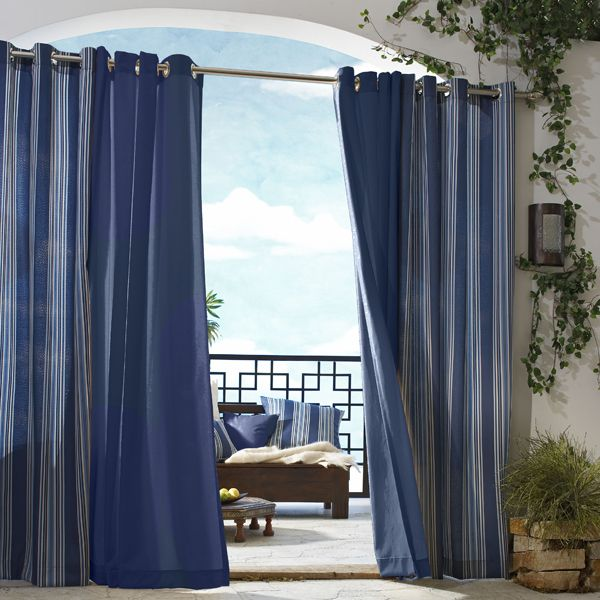 Gazebo Solid Outdoor Curtains Homeinfatuation Com