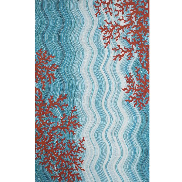 Liora Manne Coral Reef Water Outdoor Rugs Rug Home Infatuation