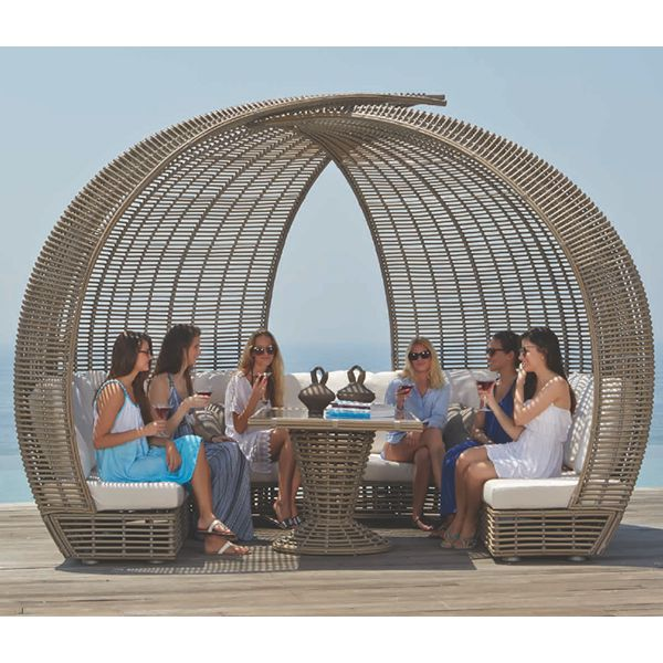 Skyline Design, Sparta, Outdoor, dining, wicker, table ... on Sparta Outdoor Living id=19908
