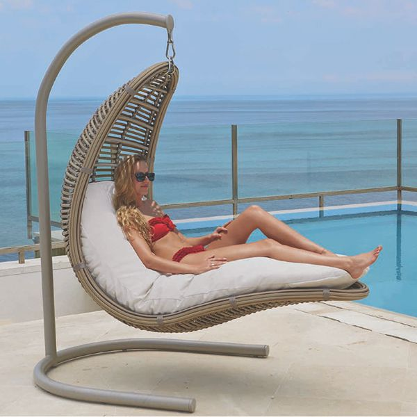 Attrayant Skyline Design, Outdoor, Drone, Wicker, Hanging, Lounge, Chair    HomeInfatuation.com.
