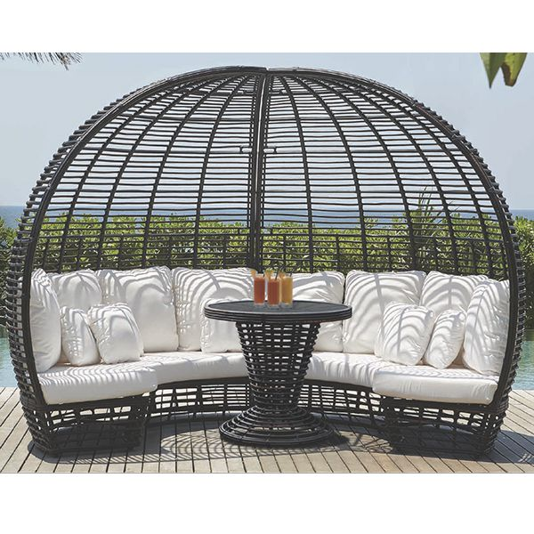 outdoor pod pods chair chairs patio modern homeinfatuation com