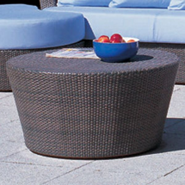 Outdoor Wicker Patio Furniture Modern HomeInfatuationcom - Gray wicker coffee table